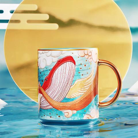 JINGREPUBLIC 共禾京品 国潮系列陶瓷杯 470ml