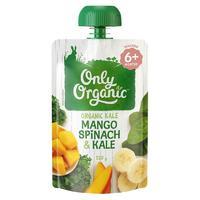 Only Organic 有机果泥 新西兰版