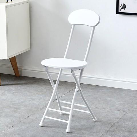 LISM 简易折叠椅子靠背椅学生椅家用餐椅