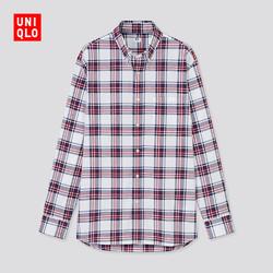 UNIQLO 优衣库 436432 男装优质长绒棉衬衫