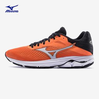 Mizuno 美津浓 MIZUNO 女士专业减震跑步鞋慢跑鞋舒适透气运动鞋 J1GD190346