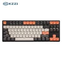 KZZI 珂芝 K87 三模机械键盘 87键 凯华BOX红轴