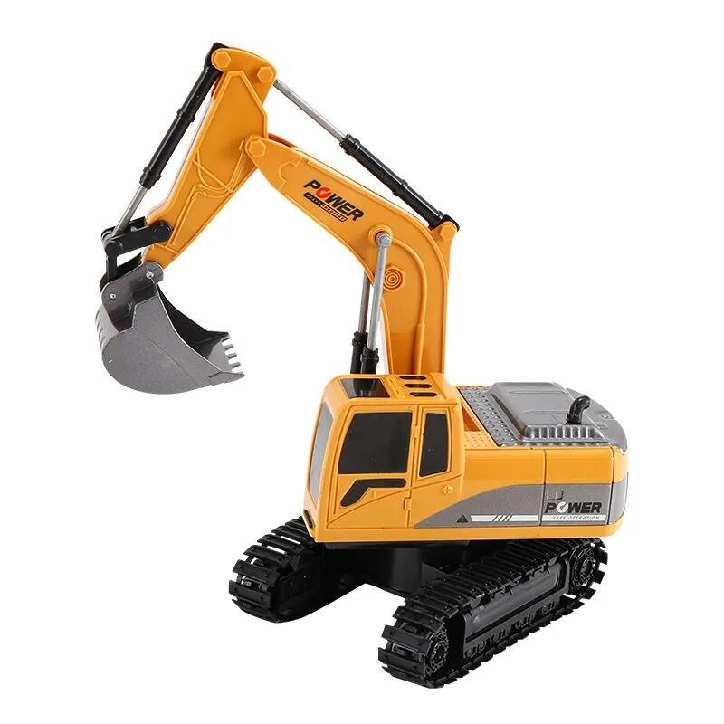The North E home 北国e家 合金挖掘机无线遥控充电遥控玩具