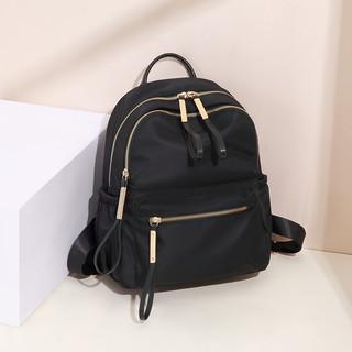 GOLF/高尔夫小双肩包女新款潮大容量时尚双肩背包帆布包旅行书包学生