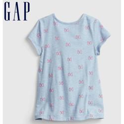 Gap 盖璞 女幼童纯棉短袖T恤677872