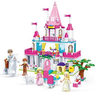 GUDI 古迪 Alice公主系列 甜心城堡 9013
