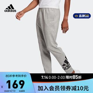 adidas ORIGINALS 阿迪达斯官网 adidas M BL FT PT 男装运动型格长裤GK8978 中麻灰/黑色 A/M(175/80A)