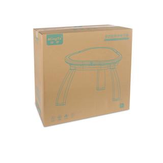 铭塔 MT8235 多功能积木学习桌 桌椅+大颗粒积木*80