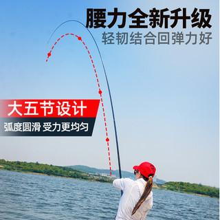 CHUANGWEI 创威 cwlts 碳素台钓竿 4.5米
