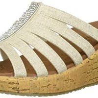Skechers 斯凯奇 Beverlee-多带水钻坡跟凉鞋
