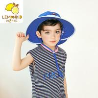 lemonkid 柠檬宝宝 儿童防晒遮阳帽