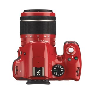 PENTAX 宾得 K-50 DA L APS-C画幅 数码单反相机 红色 18-55mm F3.5 AL WR 变焦镜头 单镜头套机
