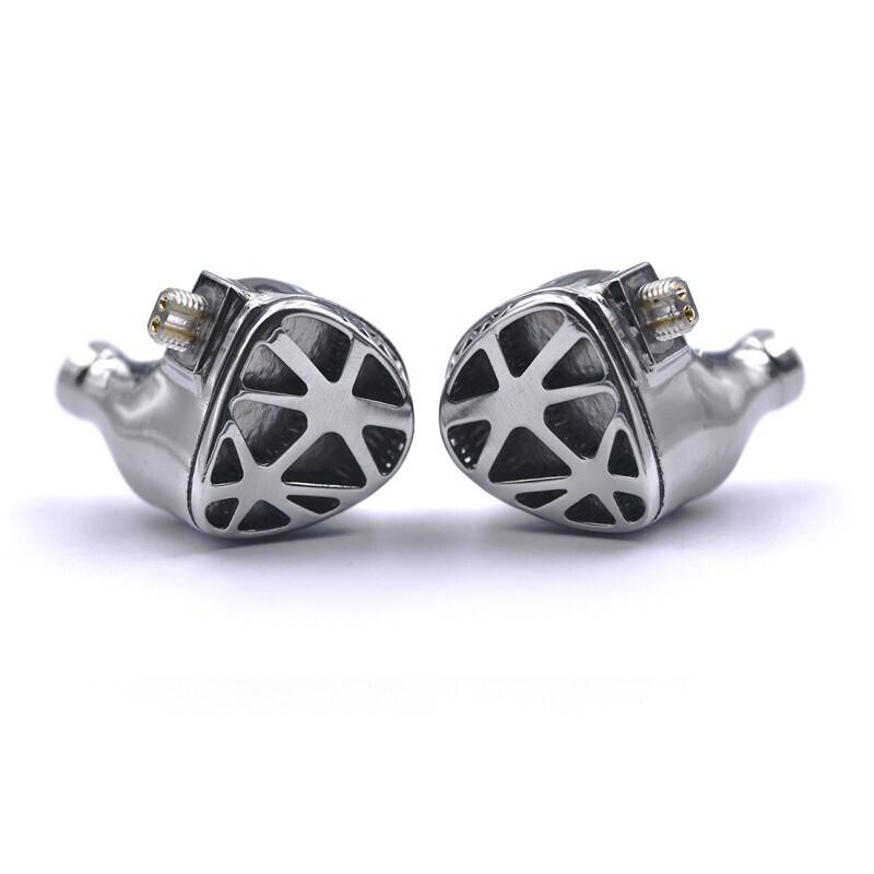 Unique Melody Mirage 3 入耳式耳塞式有线耳机 银色 直型