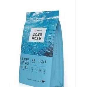 J.ZAO 京东京造 鲜肉无谷全价猫粮 2kg 海洋盛宴