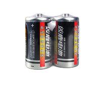 sonluk 双鹿 R20S 1号碳性电池 1.5V 2500mAh 2粒装