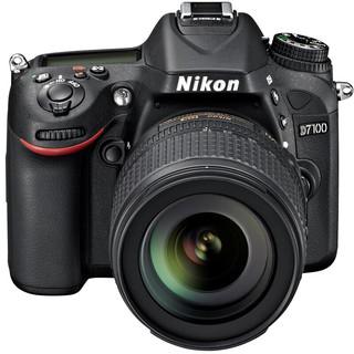 Nikon 尼康 D7100 APS画幅 数码单反相机 黑色 18-140mm F3.5 单镜头套机
