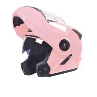 AD 106 摩托车头盔 少女粉