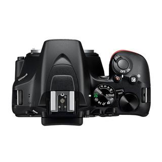 Nikon 尼康 D3500 APS画幅 数码单反相机 黑色 18-55mm F3.5 防抖变焦镜头 单镜头套机