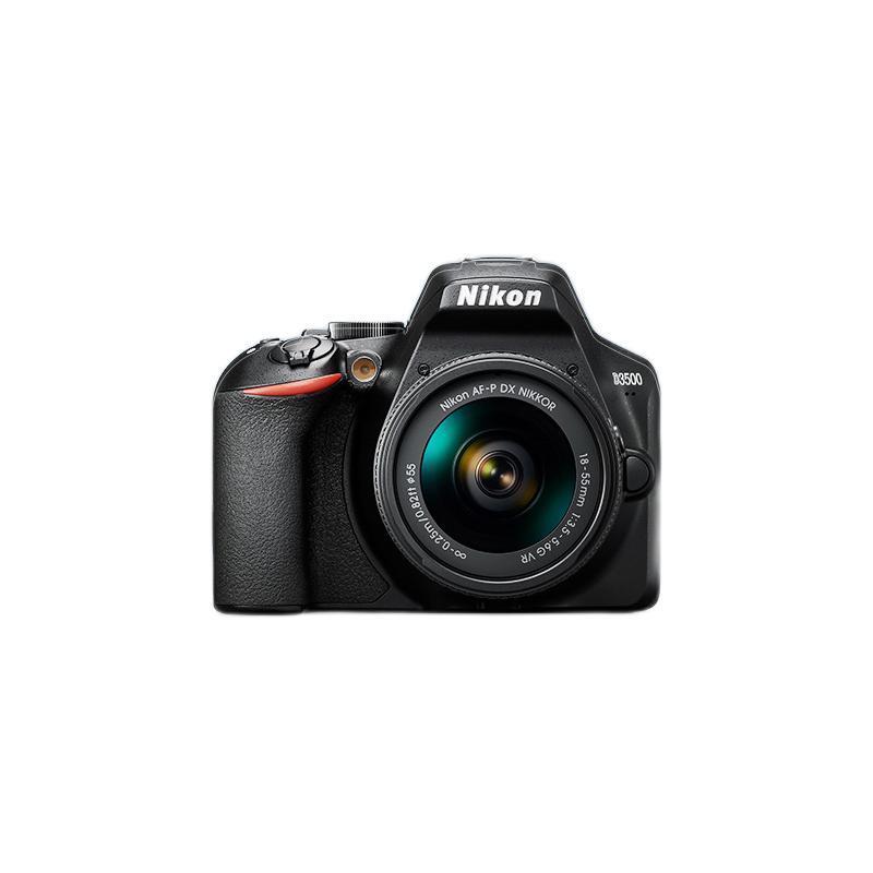 Nikon 尼康 D3500 APS画幅 数码单反相机 黑色 18-55mm F3.5 VR 单镜头套机