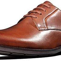 Clarks Ronnie Walk 男式皮鞋 德比鞋 棕色