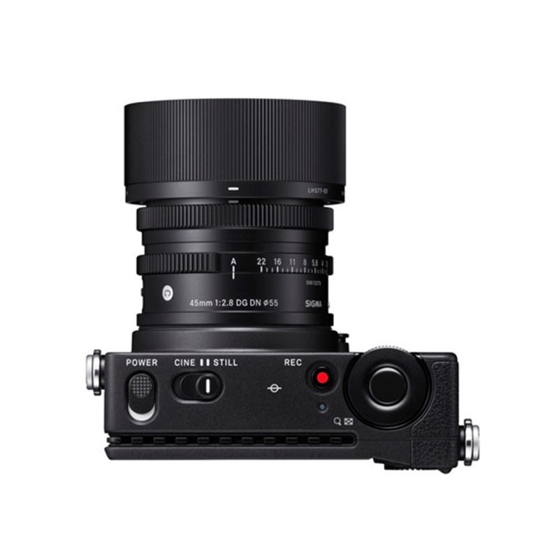 SIGMA 适马 全画幅 数码单反相机 黑色 45mm F2.8 定焦镜头 单镜头套机