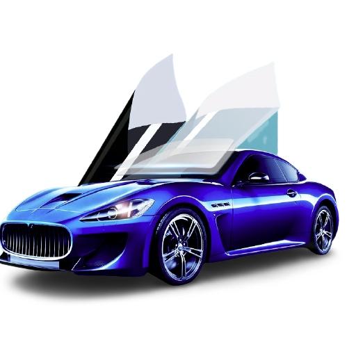 SWITTON 瑞盾 汽车贴膜 R6淡蓝前挡 中黑侧后