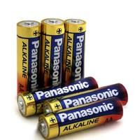 Panasonic 松下 18650 5号碱性电池 1.5v 6粒装