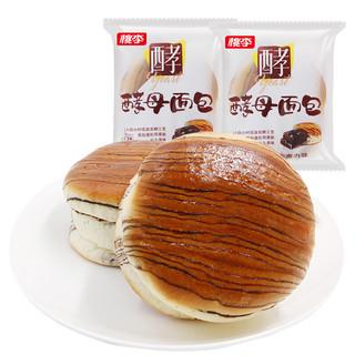 桃李 酵母面包 巧克力味 600g