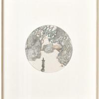 仟象映画 姚永强 白色卡纸 40x50cm 胡桃木色铝合金框 新中式多联装饰画