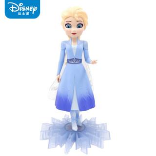 Disney 迪士尼 冰雪奇缘2 艾莎公主人偶模型 高约25cm左右