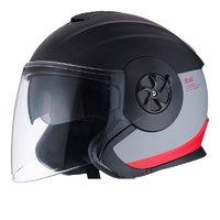 Niu Technologies 小牛电动 摩托车头盔 拉花款 红黑 M