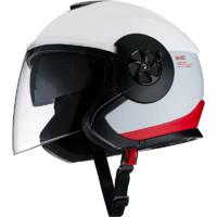 Niu Technologies 小牛电动 摩托车头盔 拉花款 红白 M