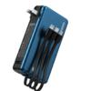 Proda 创界 PD-P78 移动电源充电器二合一 蓝色 10000mAh Type-C 18W双向快充