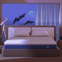 8H TH 海豚减压弹簧床垫 180*200*25cm