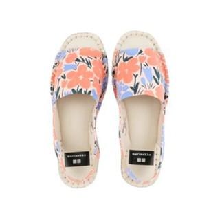 UNIQLO 优衣库 x Marimekko联名 UQ437975000 女士帆布凉鞋
