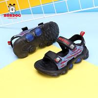 BoBDoG 巴布豆 男童夏季新款凉鞋