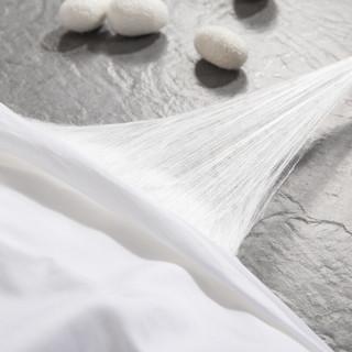 太湖雪 全棉蚕丝子母被 白色 220*240cm 6斤