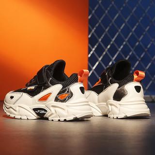 酷嘎女童运动鞋春季2021年新款儿童鞋子软底春秋款中大童跑步鞋