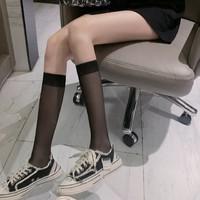 枝荣 女生小腿半筒丝袜 6双装