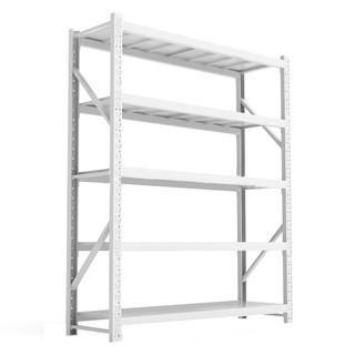 云海车  仓储货架  仓库货架超市展示架家用五层置物架 中型货架 白色主架 定制款