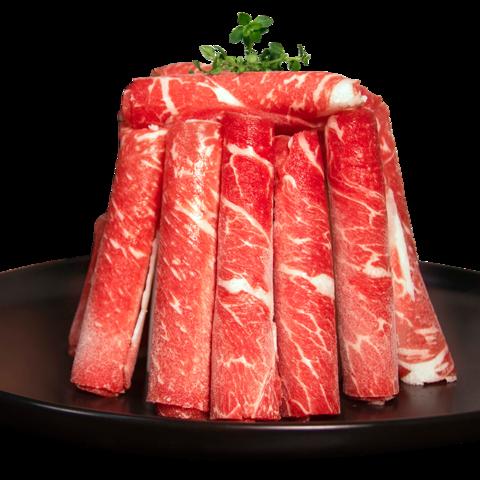 zenew 真牛馆 肥牛卷 牛肉卷 澳洲和牛原切 火锅 牛肉片烤肉 烧烤食材 和牛嫩肉火锅片200g