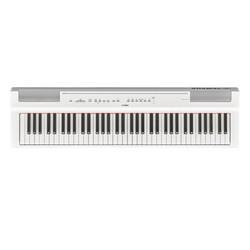 YAMAHA 雅马哈 电子琴电钢琴P121重锤73键智能便携式电钢琴初学