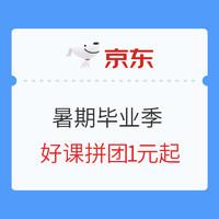 促销活动:京东暑期毕业季 华图专场 精品好课 毕业季礼包合集 专业就业指导