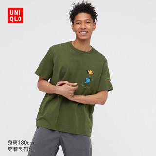 UNIQLO 优衣库 UQ441560000 男女款短袖