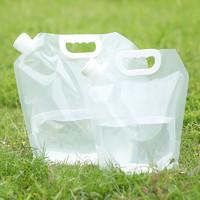 一哲 车载旅行便携手提折叠水袋 5L