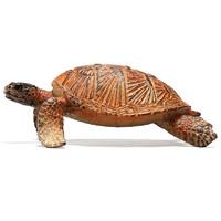 zhixiang 智想 儿童动物玩具仿真模型套装恐龙软塑胶野生动物园男孩3-6岁老虎狮子长颈鹿犀牛河马生日礼物 海龟