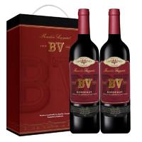 PLUS会员 : 璞立酒庄 BV波尔多混酿红葡萄酒 750ml*2支