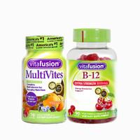 vitafusion 成人复合多维软糖 70粒+维生素B12软糖 90粒
