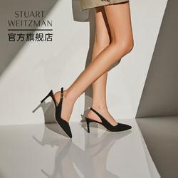 STUART WEITZMAN 斯图尔特·韦茨曼 Stuart Weitzman/SW EDITH 70 21夏新款包头后空凉鞋高跟鞋单鞋女