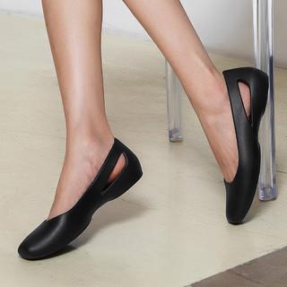 crocs 卡骆驰 女单鞋 时尚百搭轻便舒适低帮浅口平底鞋女凉鞋